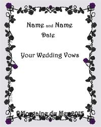 Gothic wedding vows reanimators